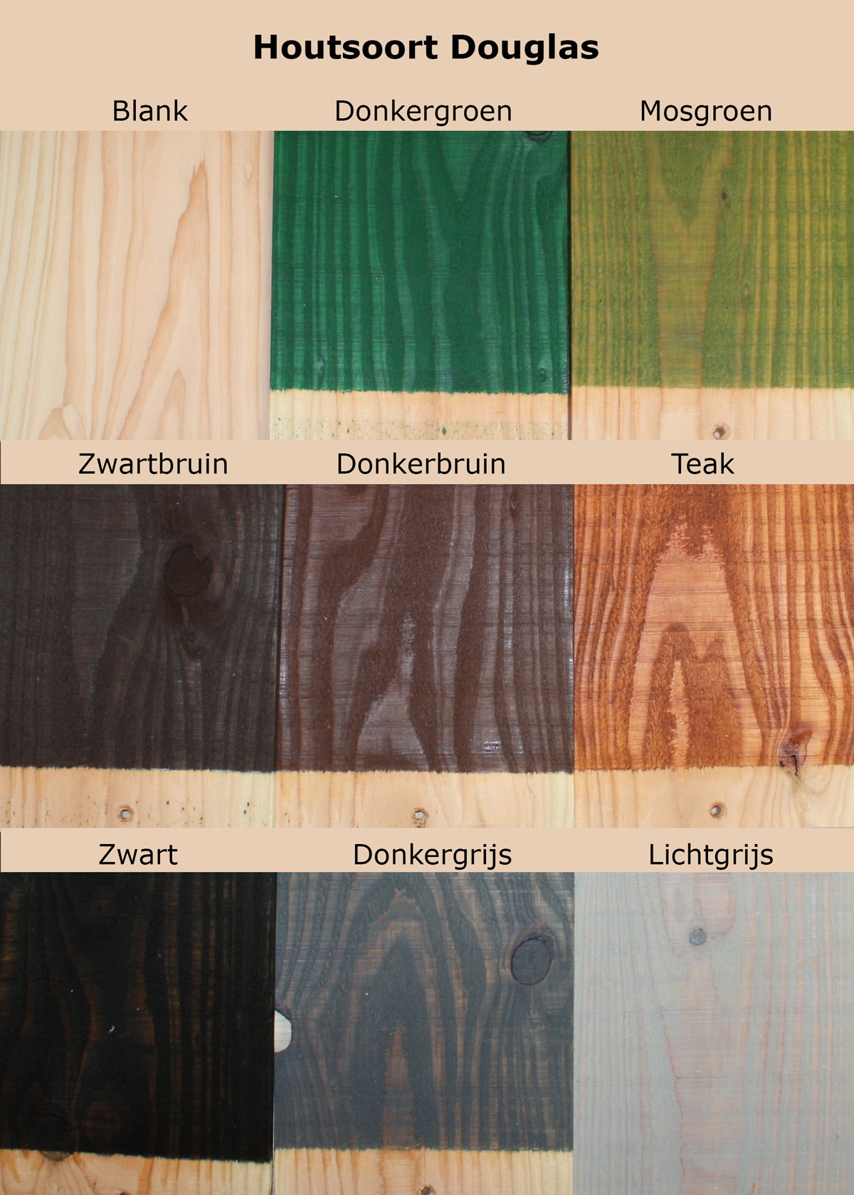 Beits douglas hout